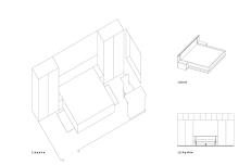 bedroom | technical drawing