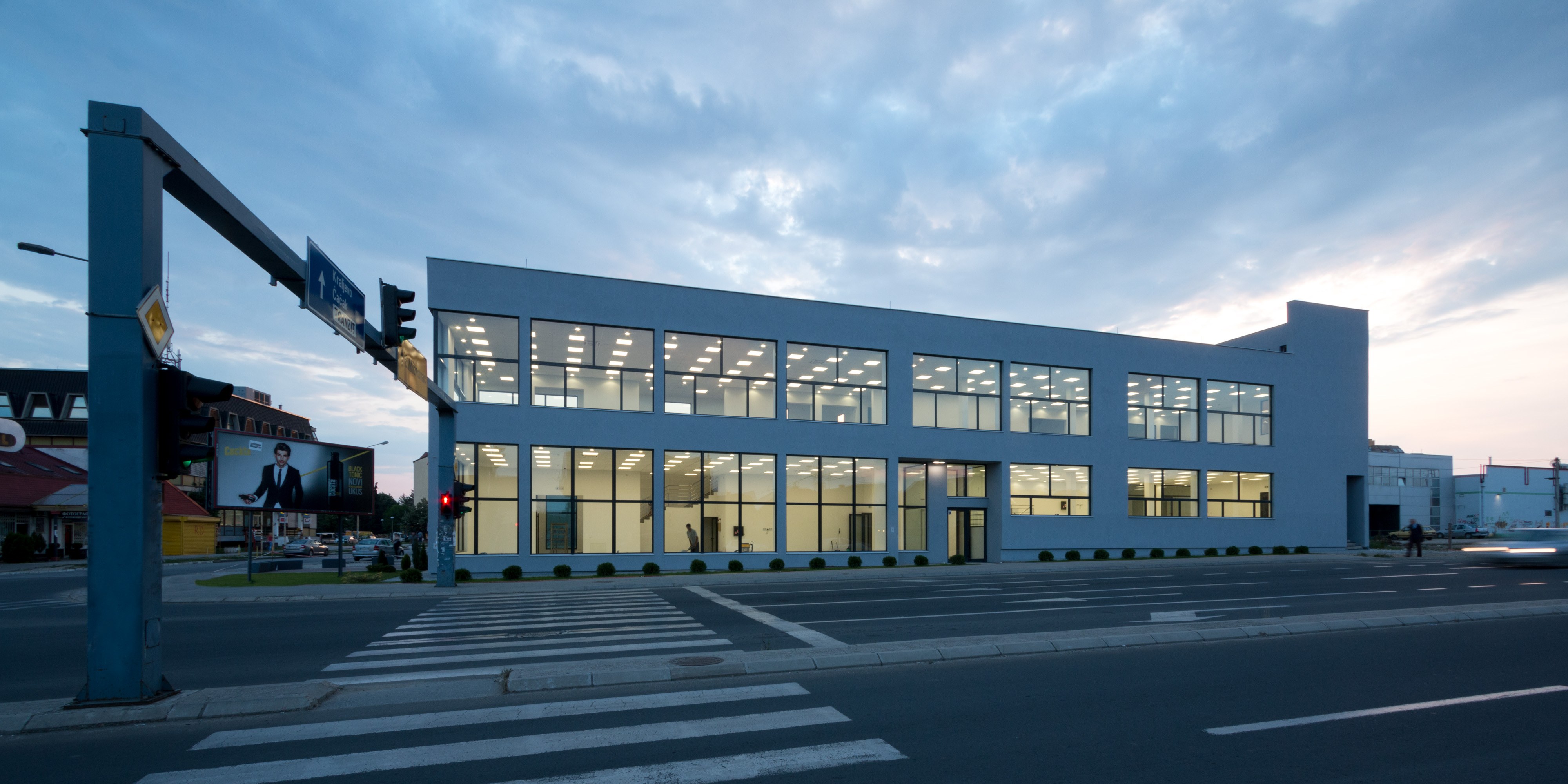 office building design architecture. || Showroom And Office Building Design Architecture